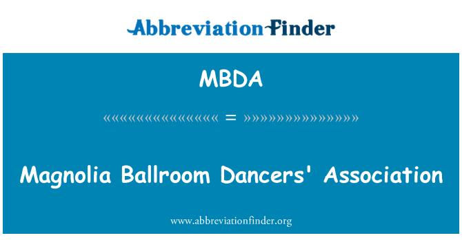 MBDA: Asociación de bailarines de salón Magnolia