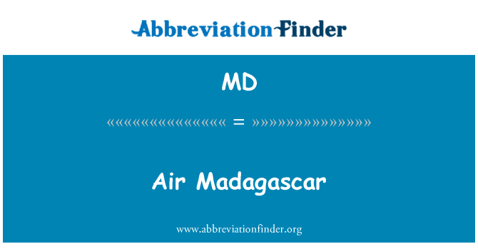 MD: Air Madagascar