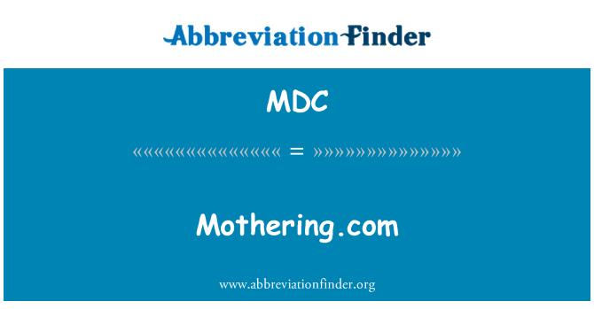 MDC: Mothering.com