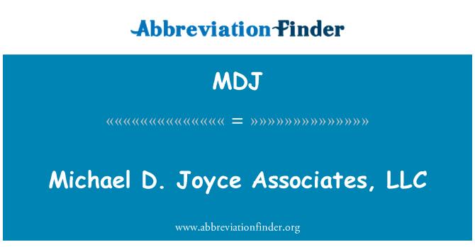 MDJ: Michael D. Joyce Associates, LLC