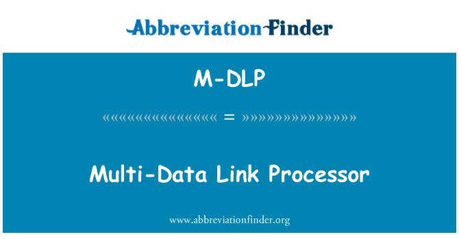M-DLP: Multi-Data Link Processor