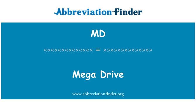 MD: Mega Drive