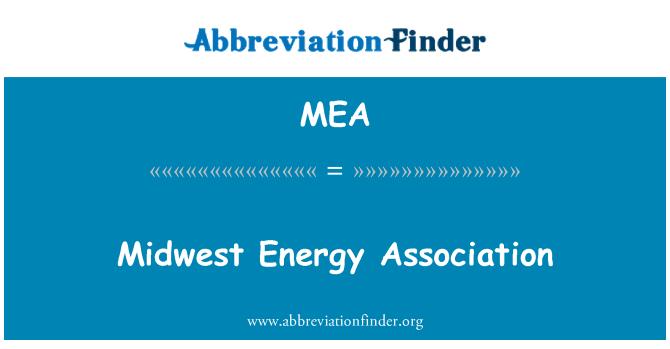 MEA: Midwest Energy Association