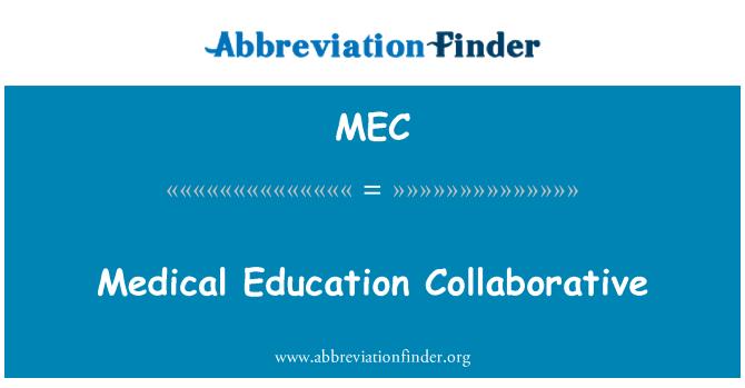 MEC: Medical Education Collaborative