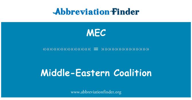MEC: Middle-Eastern Coalition
