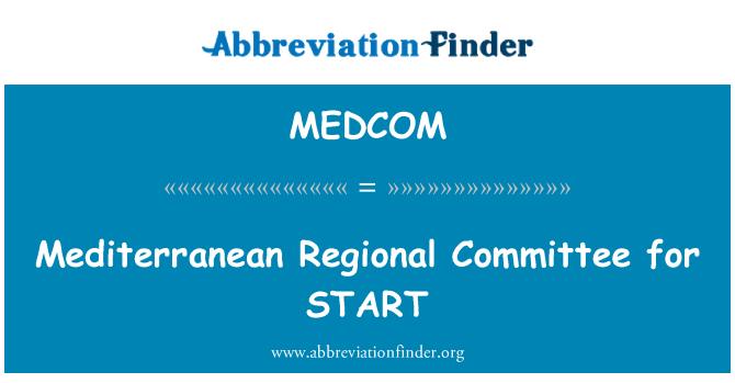 MEDCOM: Comité Regional Mediterráneo para empezar
