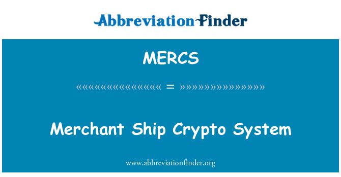 MERCS: Sistema criptográfico de buque mercante