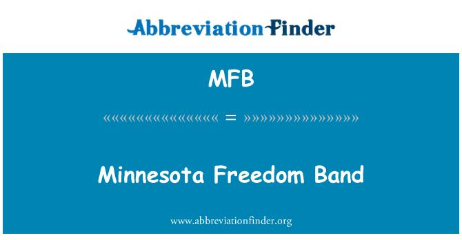 MFB: Minnesota Freedom Band