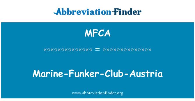 MFCA: Marine-Funker-Club-Austria
