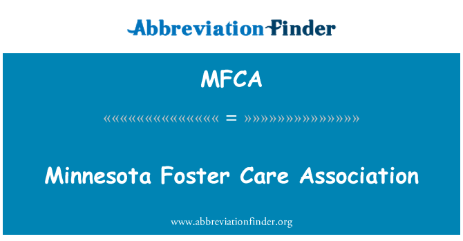 MFCA: Minnesota Foster Care Association
