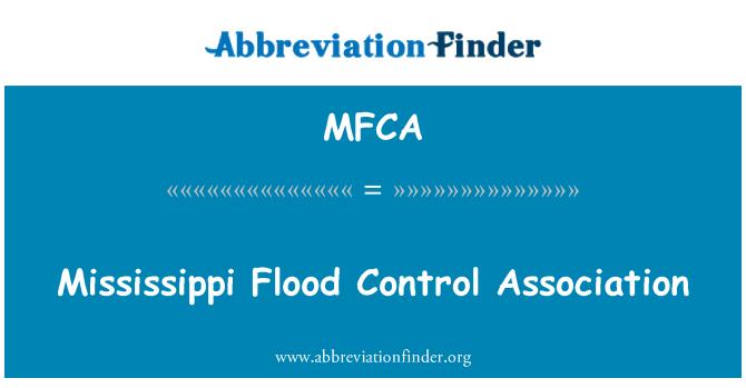 MFCA: Mississippi Flood Control Association