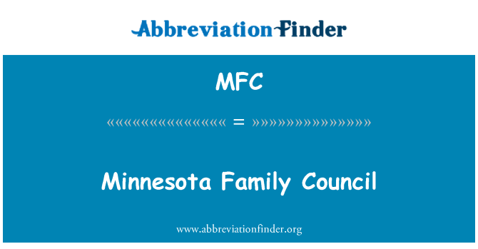 MFC: Minnesota Family Council