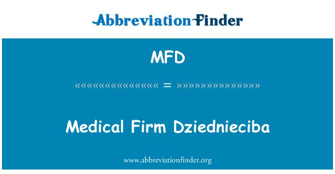 MFD: Medical Firm Dziednieciba