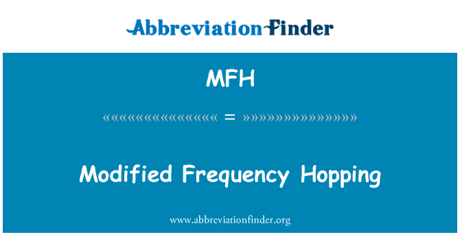 MFH: Modified Frequency Hopping