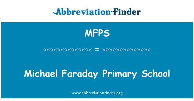MFPS: Michael Faraday İlköğretim Okulu