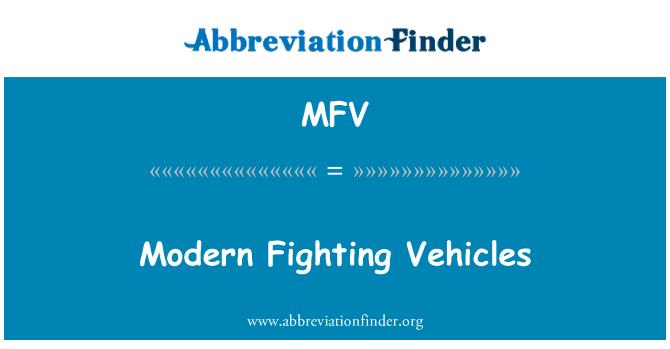MFV: 现代战斗车辆