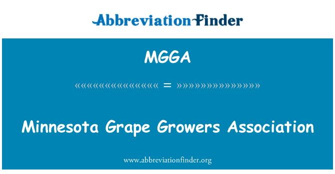 MGGA: Minnesota uzgajivači grožđa udruga