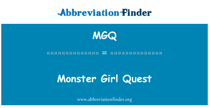 MGQ: Monster Girl Quest
