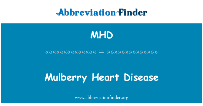 MHD: Mulberry Heart Disease