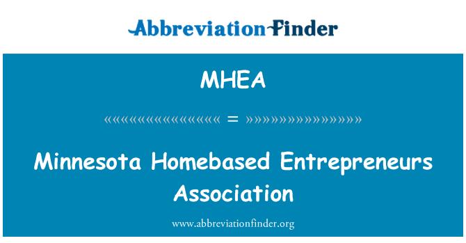 MHEA: Minnesota Homebased Entrepreneurs Association