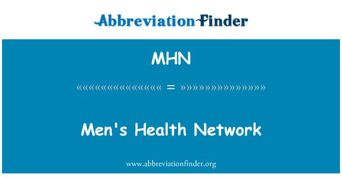 MHN: Men's Health Network