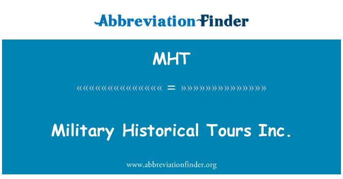 MHT: Military Historical Tours Inc.