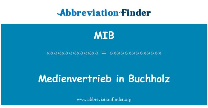 MIB: Medienvertrieb in Buchholz