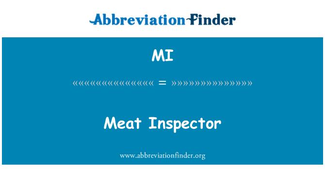 MI: Meat Inspector