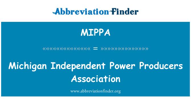 MIPPA: Asociación de productores independientes de energía de Michigan