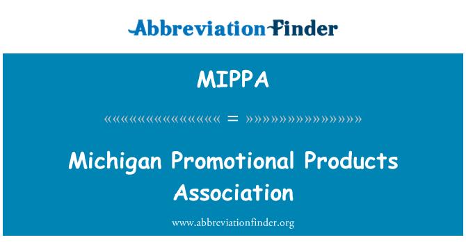 MIPPA: Asociación de productos promocionales de Michigan