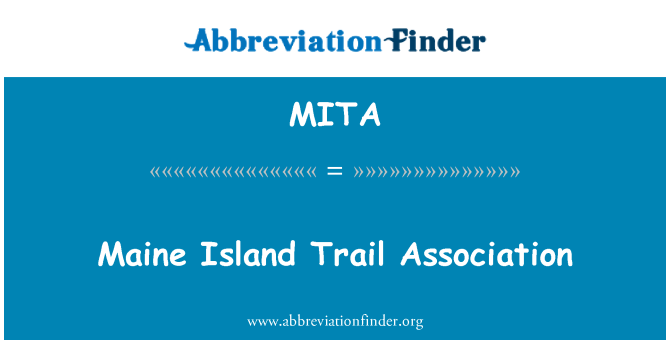 MITA: Asociación de Maine Island Trail