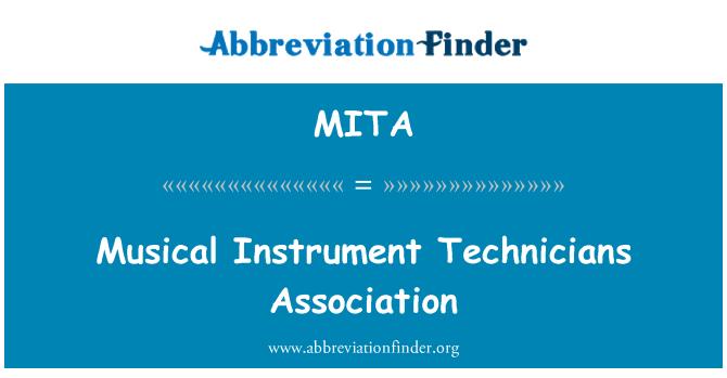 MITA: Asociación de técnicos de instrumento musical
