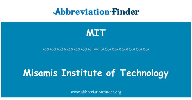 MIT: Misamis Institute of Technology