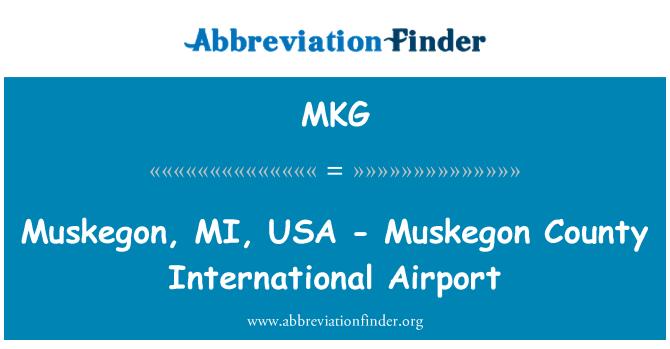 MKG: Muskegon, MI, USA - Muskegon County International Airport