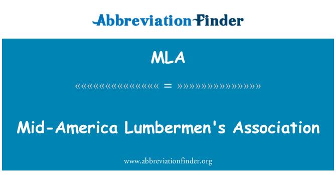 MLA: Mid-America Lumbermen's Association
