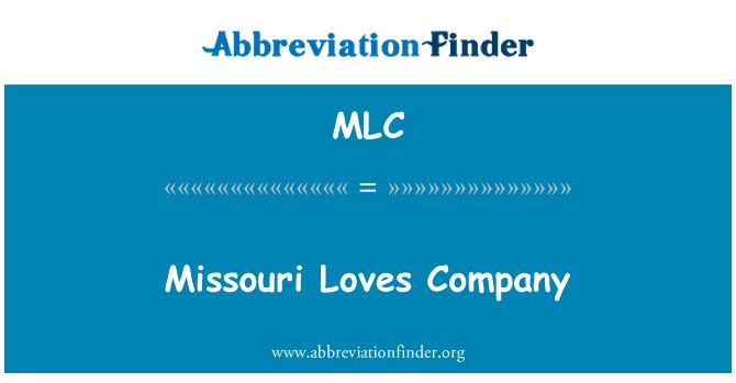 MLC: Missouri Loves Company