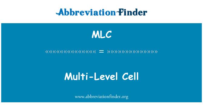 MLC: Multi-Level Cell