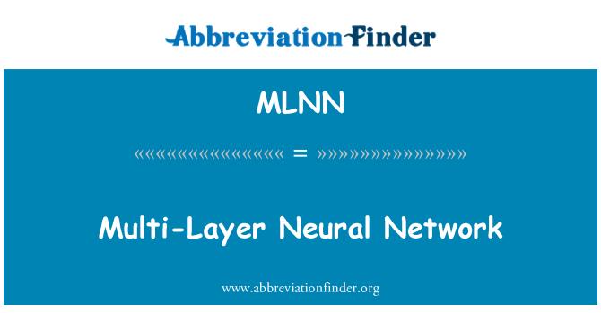 MLNN: Multi-Layer Neural Network