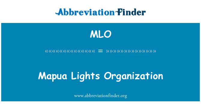 MLO: Mapua Lights Organization