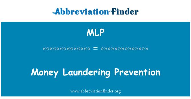 MLP: Money Laundering Prevention