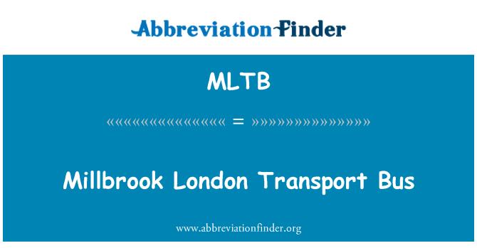 MLTB: Millbrook London Transport Bus