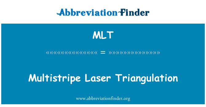 MLT: Multistripe Laser Triangulation