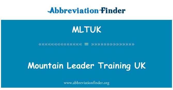 MLTUK: Mountain Leader Training UK