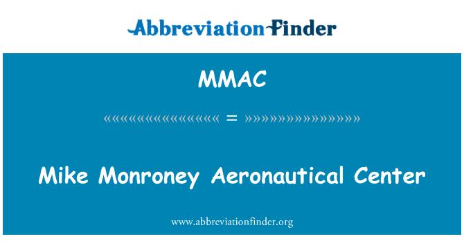MMAC: Mike Monroney Aeronautical Center