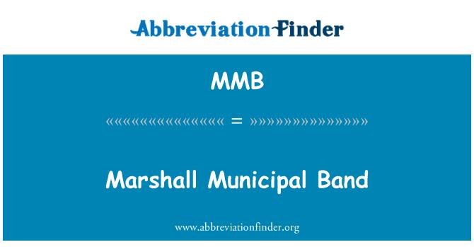 MMB: Marshall Municipal Band