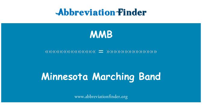 MMB: Minnesota Marching Band