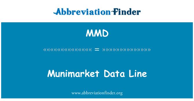 MMD: Munimarket Data Line