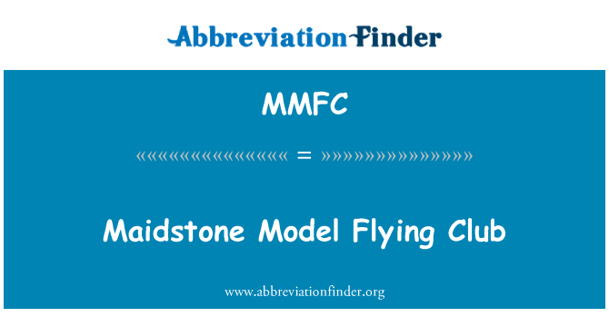 MMFC: Maidstone modelo Flying Club