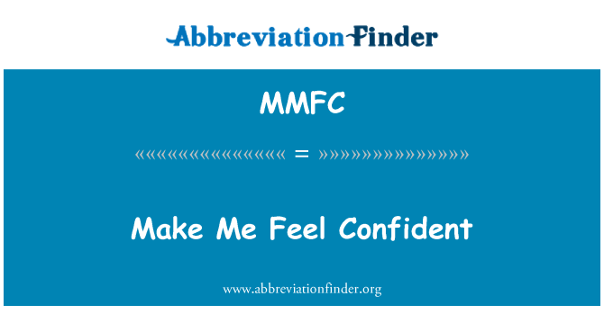 MMFC: Me hace sentir seguro