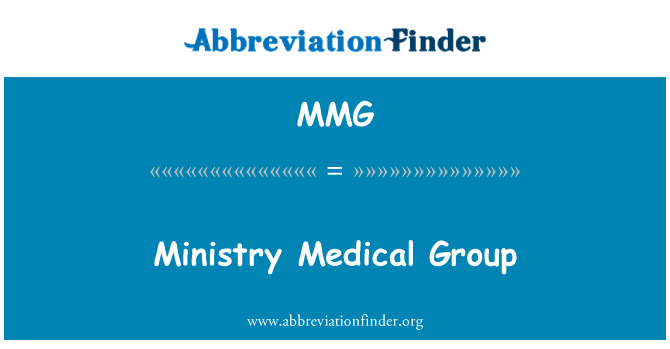 MMG: Ministry Medical Group
